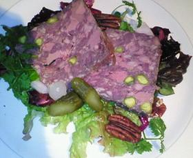 フランス・シャラン産 鴨のテリーヌ サラダ添え