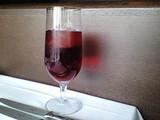発泡ブドウジュース