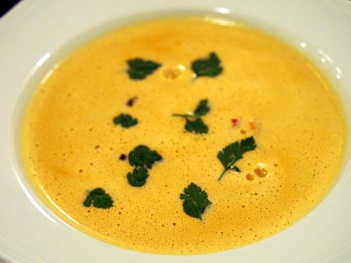 オマールのクリームスープ