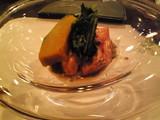 秋鮭とトリュフマヨネーズ