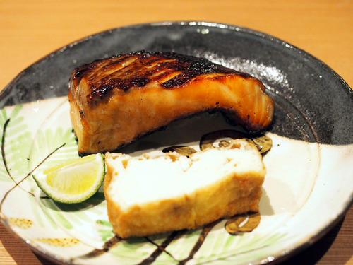 桜鱒の香味焼き