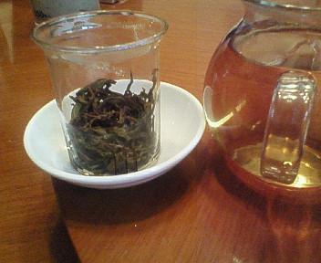 お茶も美味しい