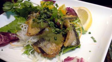 秋刀魚のフリット