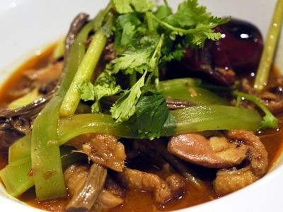 重慶鶏の火鍋風