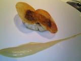 鯛のポワレ アーモンドとレモンのソース