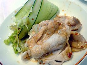 豚肉の冷菜