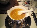 燕の巣と上海蟹スープ