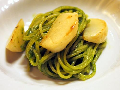 蕪のスパゲティーニ