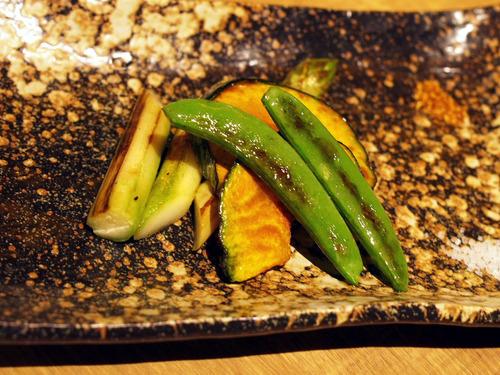 有機野菜焼き