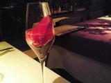 薔薇のシャンパンカクテル