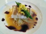 淡路島からの魚介の一皿