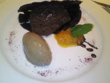 ショコラとセップ茸のアイス
