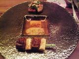 鴨葱串焼き、鱒、牛肉