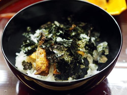 松茸海苔飯