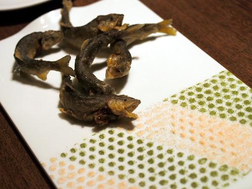 稚鮎のフリット