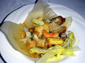 魚介と季節野菜の炒め