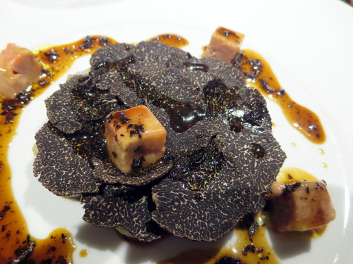 菊芋とトリュフのガレット