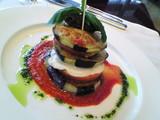 茄子とトマトとモッツァレラ