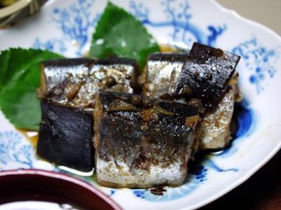 秋刀魚の鞍馬煮