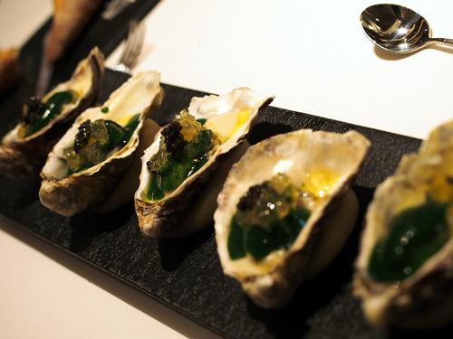 オレロン産牡蠣の冷製