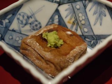 アゲ胡麻豆腐