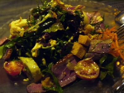 鎌倉野菜と鴨燻製サラダ