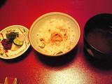 鯛と生雲丹の炊き込みご飯