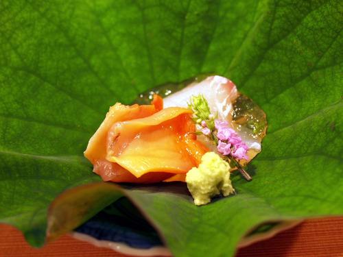 赤貝と甘鯛
