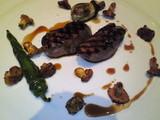 マグレ鴨胸肉のグリエ