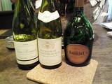 泡と紅白ワイン