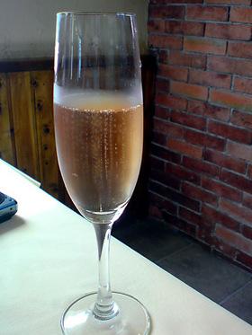 ロゼシャンパン