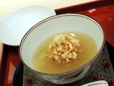 海老芋と鴨団子