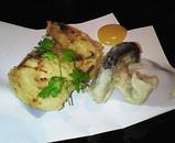 金目鯛と茸のフリカッセ