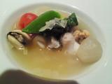 くえと野菜のスープ仕立て