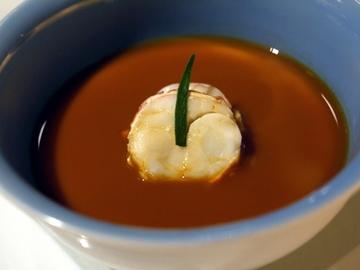 オマール海老のビスクスープ
