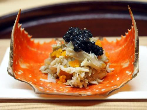蟹キャビア