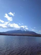 2009年元旦の富士