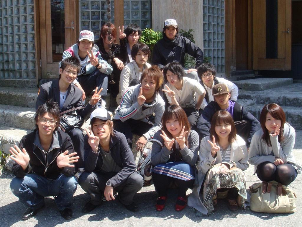 学生集合パンチラ