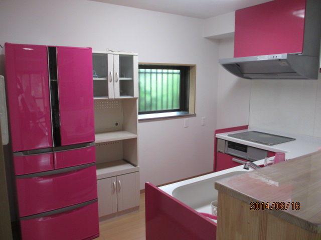 ピンク冷蔵庫 おしゃれなカラー冷蔵庫 ラシックカラーズ
