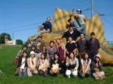 070923バスツアー 恐竜前集合写真