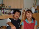 第15回活き活き人 小野夫妻�(2人のツーショット)