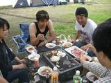 林さんキャンプ�