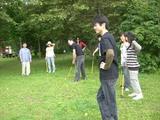 07年8月キャンプ�パークゴルフその2