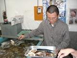 お昼の交流会(in鮭番屋)1 �
