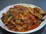 牛スジのトマト煮込み
