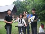 07年8月キャンプ�自転車