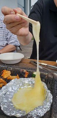 酪恵舎のチーズステーキ