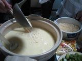 チーズフォンデュ作り