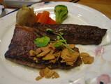 伊賀牛のステーキ