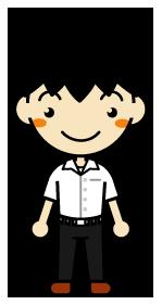 制服のカッターシャツをズボンの外に出してるDNQ中学生wwww